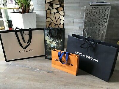 LARGE GUCCI, DOLCE &GABBANA, LOUIS VUITTON GUCCI LIMITED EDITION GIFT Bags 4