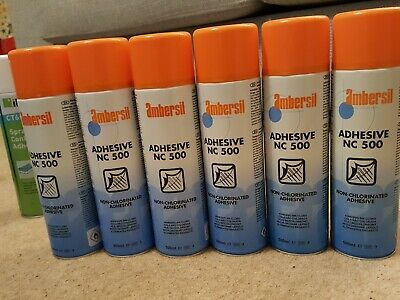 Spray glue Ambersil 31623-AA NC 500 Non Chlorinated Adhesive 500ml