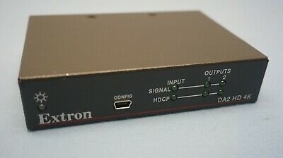 EXTRON HDMI DA2 HDMI Distribution Amplifiers 60-997-01