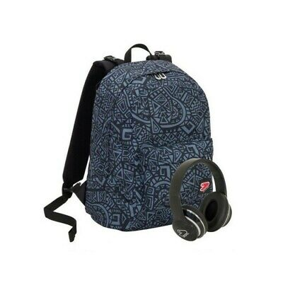 SEVEN The Double project - doubleface backpack Maze Boy Mystic Gray