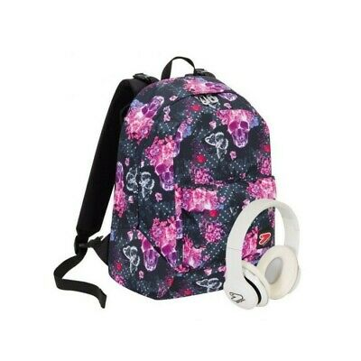 SEVEN The Double project - doubleface backpack Queen Crown Fucsia Purple