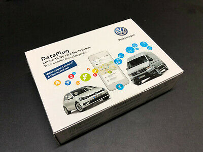 Original VW DataPlug Connectivity Upgrade el. Fahrtenbuch GPS Track 5GV051629H