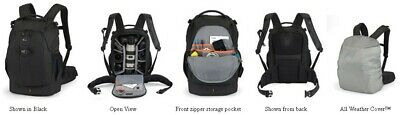 New Lowepro Flipside 400 AW Digital SLR Camera Bag with Rain Cover Backpack