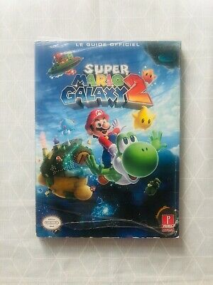 Super Mario Galaxy 2 - Guide officiel FR / Neuf sous Blister Nintendo Wii