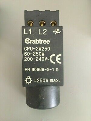 CRABTREE CPU-2W250 Dimmer Replacement Module 60-250W