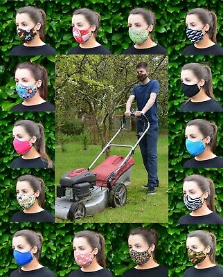 Maskeraid® Gardening Aid Reusable Washable Cotton Fabric Face Mouth Nose Mask
