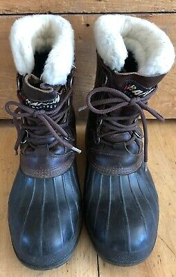07b5915bc96 DONNER MOUNTAIN LEATHER/RUBBER Insulated Boots, Men's 11M - $34.99 ...