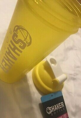 Yellow Shaker Bottle