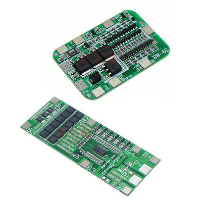 6S Li-ion 18650 Battery Protection Board BMS PCB Balance 22V 24V 15A 40A