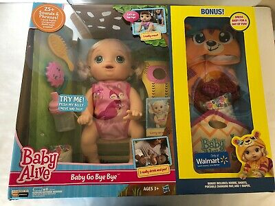 Baby Alive Blonde Baby Go Bye Bye Walmart Exclusive Brand New with Damaged Box