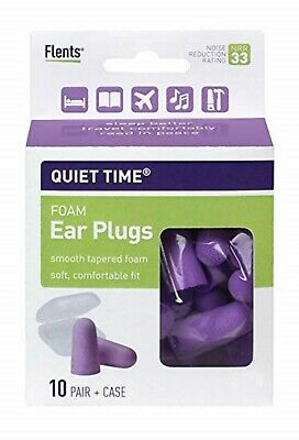 Flents Quiet Time Ear Plugs 10PR 023185680003WS
