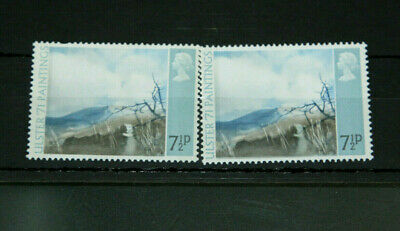 GB 1971 - ULSTER 7 1/2p (SG882a) ERROR - PALE OLIVE GREY OMITTED - MINT