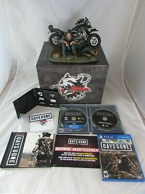 Days Gone Collector's Edition PlayStation 4 (almost complete, NO DLC's)