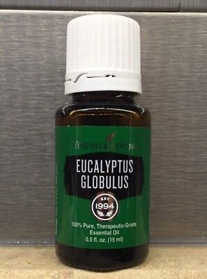Young Living Essential Oil Eucalyptus Globulus 15ml NEW SEALED FRESH Free Ship