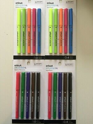 Cricut Infusible Ink Pens Basic/Neons Set Markers New YOU PICK