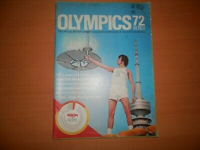 Munich Olympics 1972 British Association Preview Official