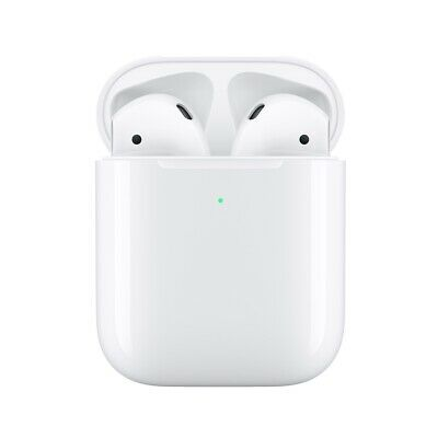 1:1 AirPods Replica 2nd Generation with Wireless Charging Case and H1 Chip White