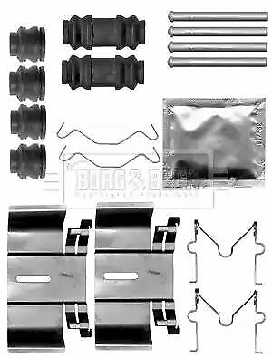 Borg /& Beck Accessory disc brake pads FITTING KIT SHOES BBK6138 OE 4308.58