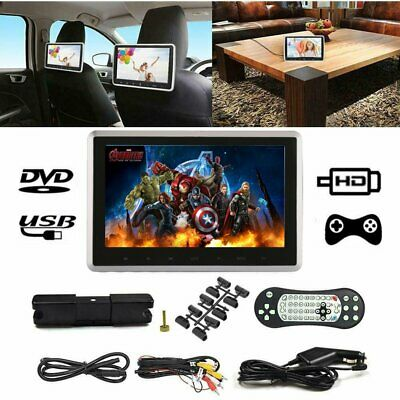 """10.1"""" Car Headrest Monitor DVD Player USB/SD/HDMI/FM/Game TFT LCD Touch Screen"""