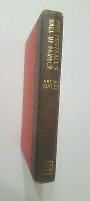Arthur Daley-  1st Edition 1963 Pro Football's Hall Of Fame, No Dust Cover