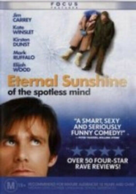 Eternal Sunshine Of The Spotless Mind Dvd=Jim Carrey=Region 4=New And Sealed
