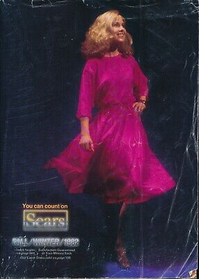1982 SEARS FALL Winter Vintage Catalog Gifts Toys Clothes