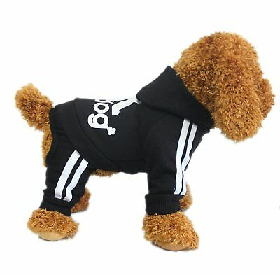 Puppy Small & Large Pet Dog Winter Apparel Clothes Jacket Shirt Hoodie Jumpsuit