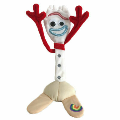 "Toy Story 4 Movie New Character Forky 10"" Soft Plush Toys Stuffed Doll Kids Gift"