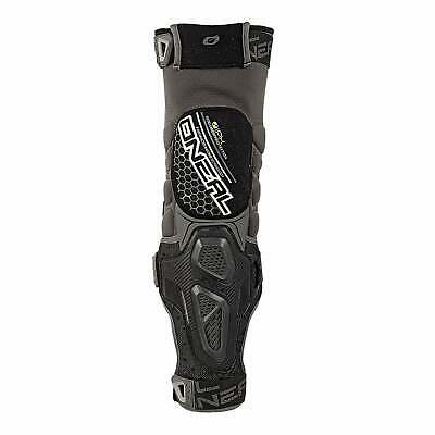 O Neal Sinner Hybrid Guard Unisex Body Armour Knee Pads - Black All Sizes