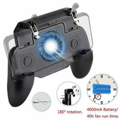 Mobile Phone Game Controller Joystick Cooling Fan Gamepad With 4000mAh Battery