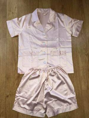 Children's & adults short pyjamas,Blush,Dusky Rose,Navy,burgundy,Dusky Blue,whit