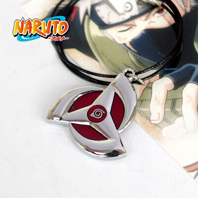 Anime Naruto: Kakashi Sharingan Necklace Cosplay Costume Prop Pendant Gift
