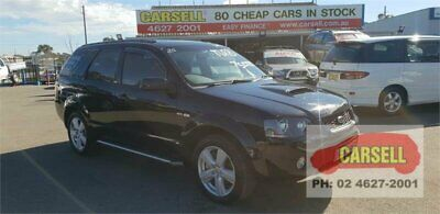 2006 Ford Territory SY Turbo AWD Black Automatic 6sp A Wagon