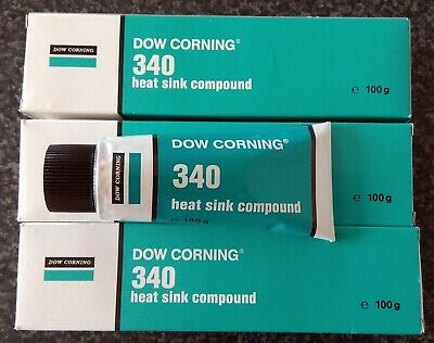 6 Tubes Dow Corning®  340 Heat Sink Compound 100g in original boxes