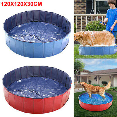 Large Dog Puppy Pool Pet Bath Swimming Pool Portable Foldable Paddling Bathing