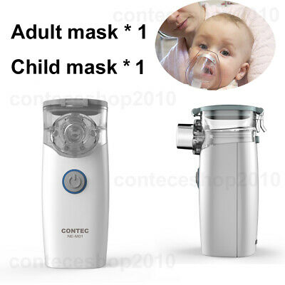 Small Portable Travel Nebulizer for adult kids with adult And child masks CONTEC