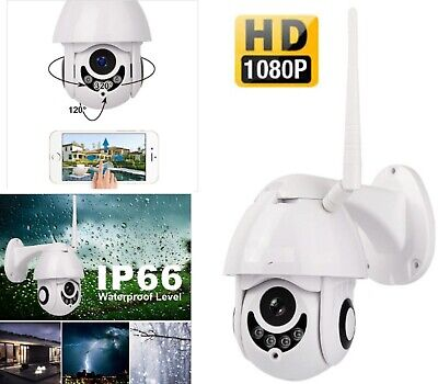 IP CAMERA PTZ WIFI SMART CAMERA 1080p TELECAMERA DI SICUREZZA DA ESTERNA