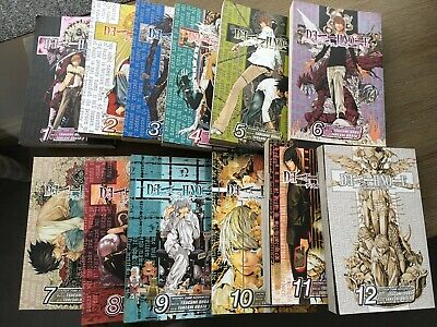 Death Note Complete Manga Collection 1-12