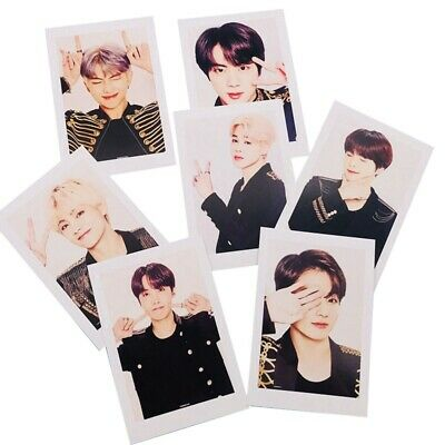 Kpop BTS LOVE YOURSELF World Tour Photo Cards JUNGKOOK JIMIN V SUGA Lomo Cards
