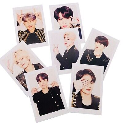Kpop BTS World Tour Photo Cards JUNGKOOK JIMIN V SUGA Collective Lomo Cards