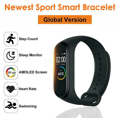 New Band 4 Newest BT 5.0 Music Smart Bracelet Heart Rate