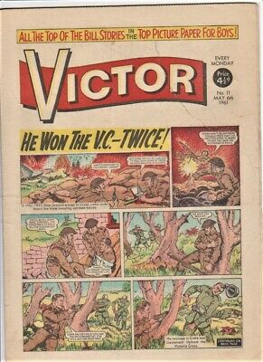 VICTOR # 11 Comic 6th May 1961 scarce issue
