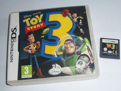 Disney TOY STORY 3 DS Game Nintendo DS/DSi/3DS/2DS Boys Girls Kids