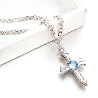 Anime Fairy Tail Gray Fullbuster Cross Cosplay Necklace Charm Pendant Toy Gift
