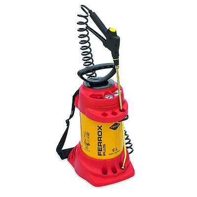 Mesto FERROX PLUS HD-Sprühgerät 6 Liter, ölbeständig 6 Bar Compression Sprayer,