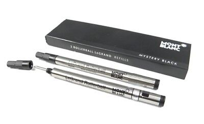 Montblanc LeGRAND pack of 2 Rollerball Refills Pacific Mystery Black M (medium)