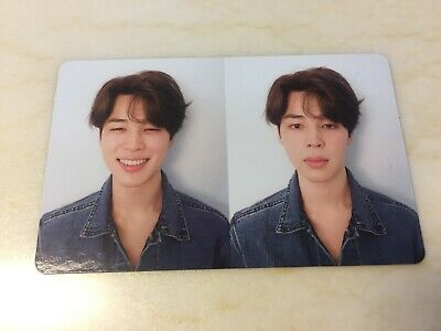 BTS JIMIN [ Love Yourself Tear Official Photocard ] R Ver Fake Love / NEW /+GIFT