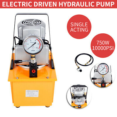 220V 70MPa Hydraulic Pump Electric Driven and Single Acting Manual Valve