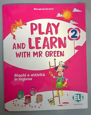 play and learn with mr green 2 bertarini mariagrazia 9788853627278