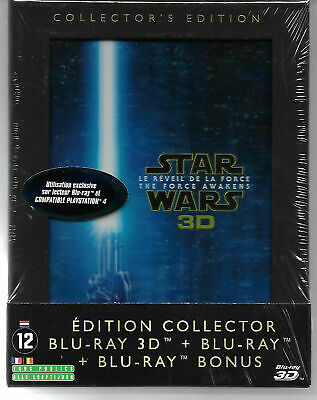 Blu Ray 3D + 2D : Star Wars Le reveil de la Force - NEUF